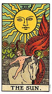 22 Daily Intentions Tarot The Sun