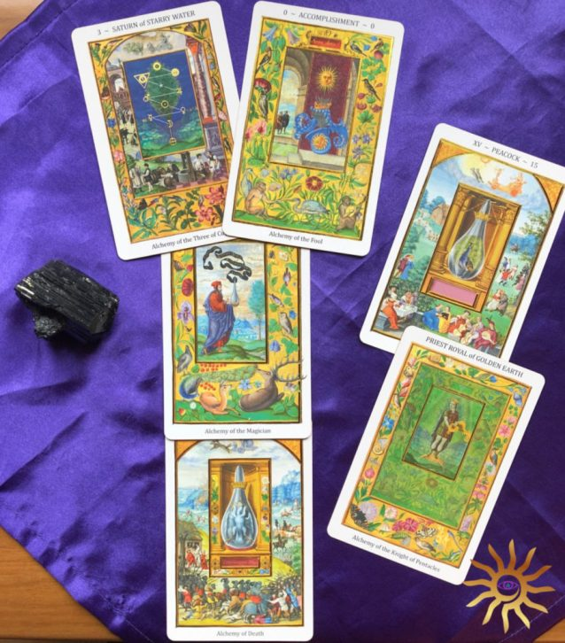 Splendor Solis Tarot Deck Interview