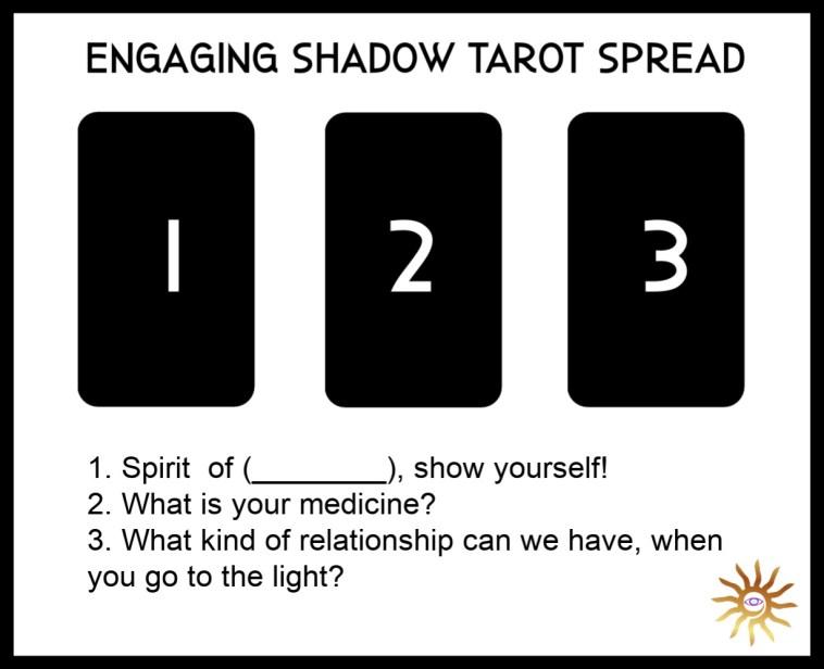Engaging Shadow Shamanic Tarot Spread