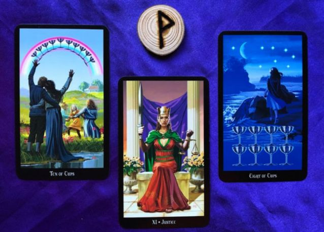 Pile 3 week ahead pick-a-pile rune and tarot reading 17 feb