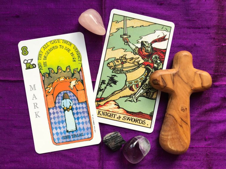 weekly gospel and tarot meditation