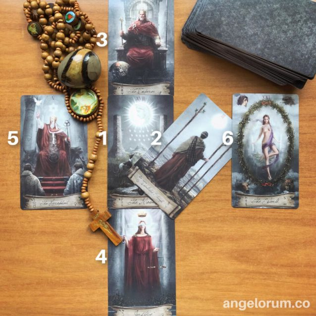 heaven and earth tarot deck review reading