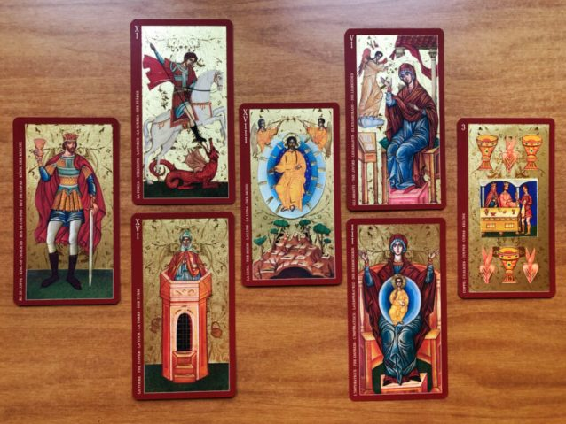 capricorn new moon sample tarot reading with the golden tarot of the tsar