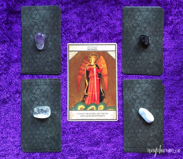 Angelic Tarot Week Ahead Guidance with pick-a-pile readings