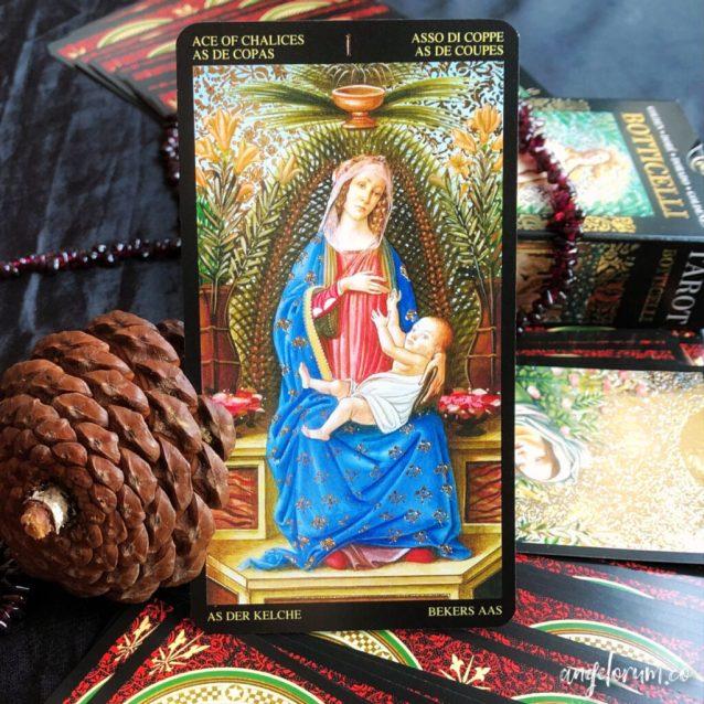 golden botticelli tarot review and deck interview