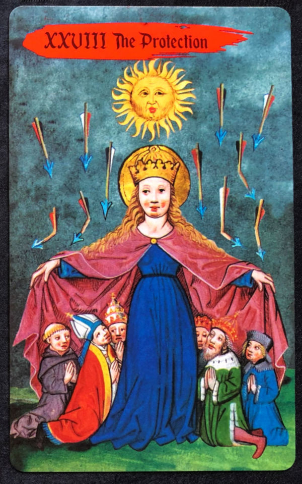 medieval europe tarot review the protection mother mary