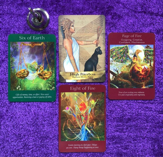 silver bell week ahead pick a pile angel tarot cards and angels and ancestors oracle
