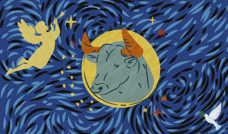 new moon in taurus anchoring in the joy of beingness