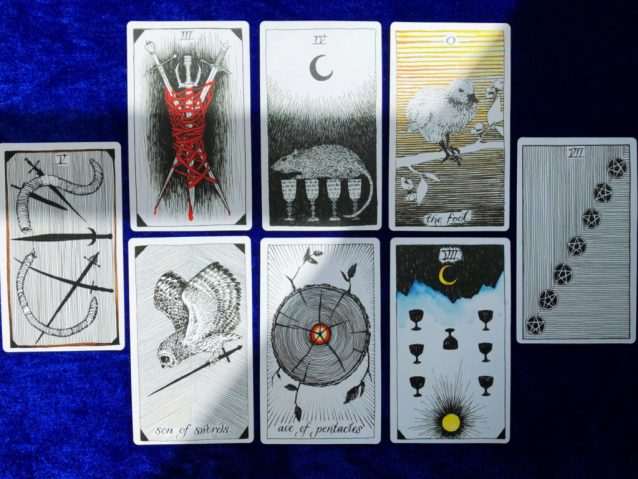 I Ching Trigram Tarot Spread Sample Reading