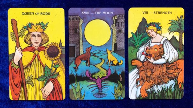Pick a Rumi Quote for your Week Ahead Tarot Forecast - Pile 1