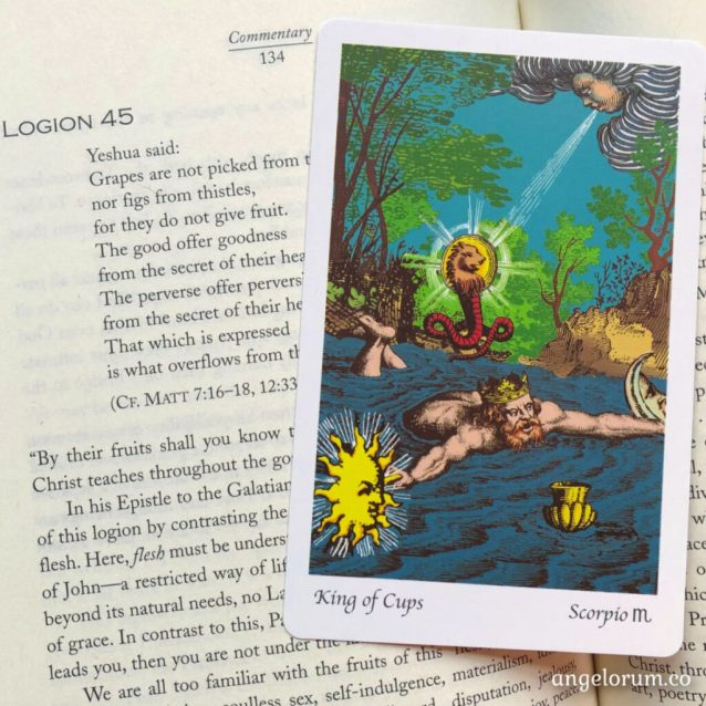 How to Have Emotional Integrity Like the King of Cups