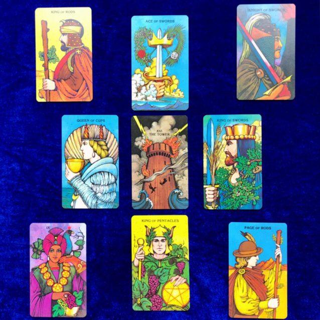 Core Values Tarot Spread - Sample Reading with the Morgan Greer Tarot