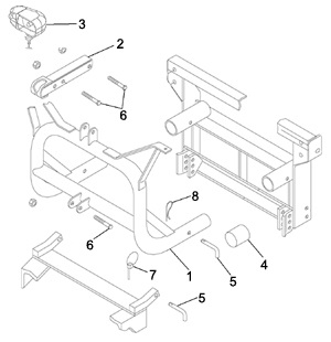 Meyer Classic Mount Lift Frame Parts, Angelo's Supplies