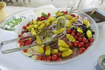 pan of salad