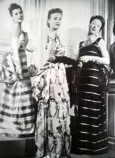 """Modelli di Elsa Schiaparelli/Elsa Schiaparelli outfit. 1939"""" Moda. Da/From Il Secolo degli stilisti"""" by Charlotte Seeling -2000"""