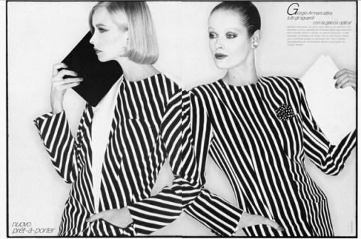 Foto by David Bailey, 1980. Vogue Italia 1980