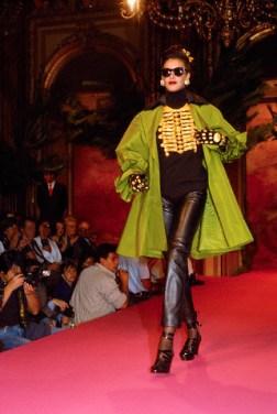 Christian Lacroix Autumn-Winter 1991-1992 Fashion Show da / from www.corbis.com