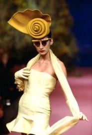 Christian Lacroix Spring-Summer 1988 Fashion Show da / from www.corbis.com