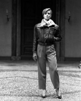 Giorgio Armani Leather Jacket, 1983. da/from www.corbis.com