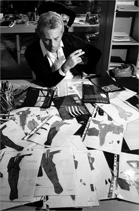 Italian fashion designer Giorgio Armani, 1979. da/from www.corbis.com
