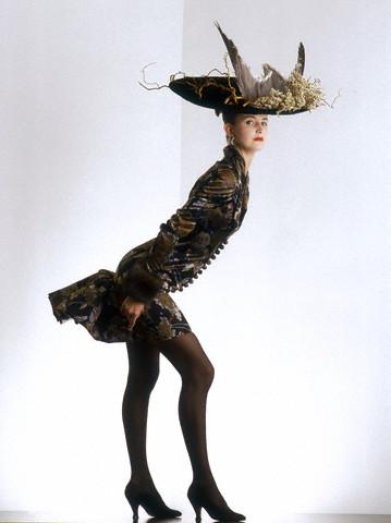 Dress by Christian Lacroix 1987 da / from www.corbis.com