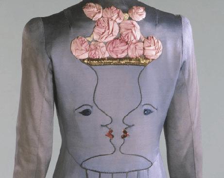 Giacca disegnata da Schiaparelli / Jacket by Elsa Schiaparelli