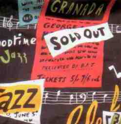 50s rocknroll jazz print