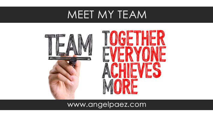 meet angel paez team