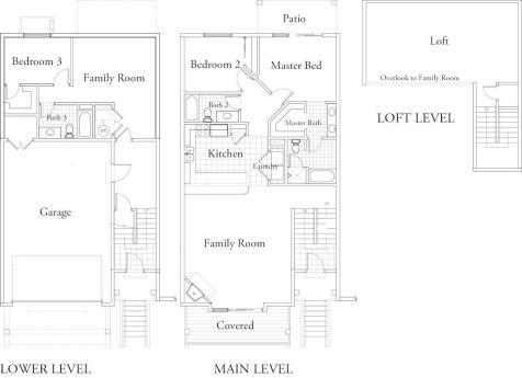 Aurora-Townhome Floor Plan