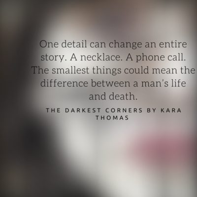 Book Review: The Darkest Corners by Kara Thomas