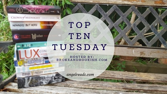 Top Ten New To Me Authors 2016