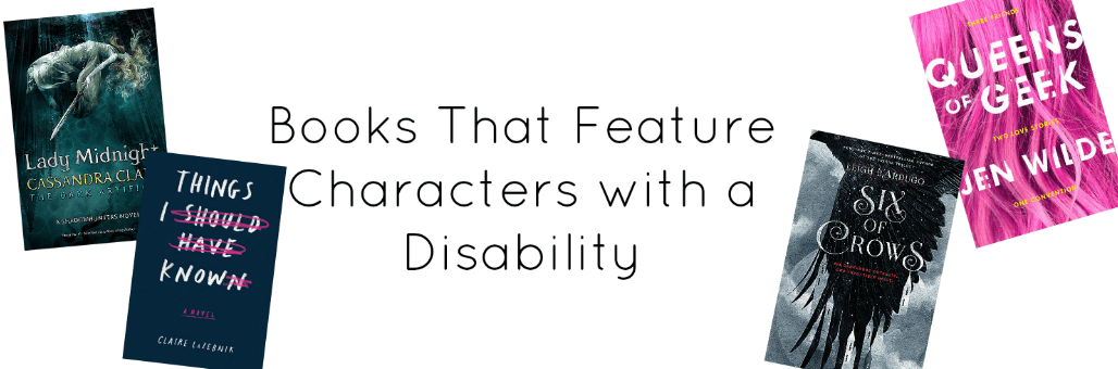 Books That Feature Characters with a Disability