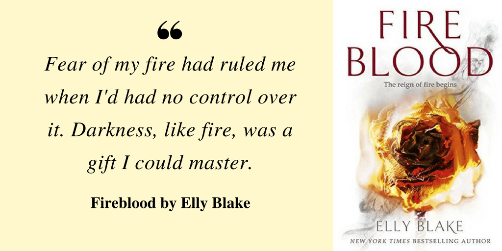 Book Review: Fireblood by Elly Blake