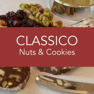 Angels Food Chocolate - Classico Nuts & Cookies Chocolate Salami