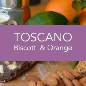 Angels Food Chocolate - Toscano Biscotti & Nuts Chocolate Salami