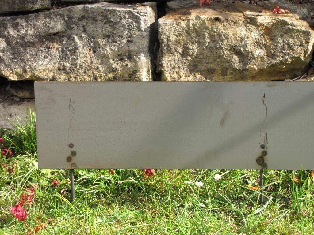 Cortenstahl Rasenkante 30 Cm Gartenprofil 3000 Rasenkanten Für