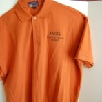 Orange ASAR Golf Shirt