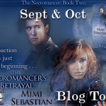 Author Interview: Mimi Sebastian (The Necromancer's Betrayal Book Tour) ~ Excerpt + Giveaway