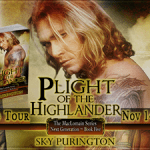 Release Day Spotlight/Giveaway/Excerpt: Plight of the Highlander (The MacLomain Series: Next Generation #5) by Sky Purington