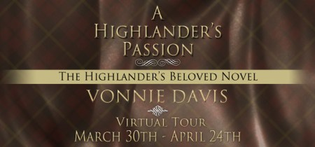 A Highlander's Passion - Banner