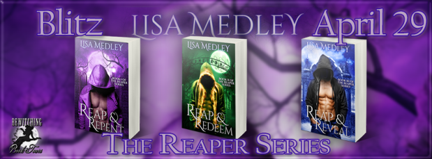 The Reaper Series Banner 851 x 315