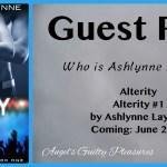 Guest Post: Ashlynne Laynne – Who Is She? – {Coming Soon: Alterity} ~ Excerpt