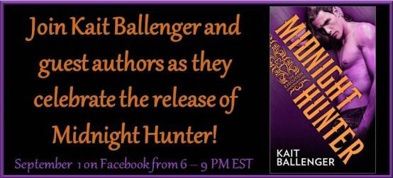 Midnight Hunter FB Release Party