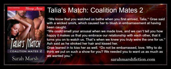 Talia's Match AD-banner