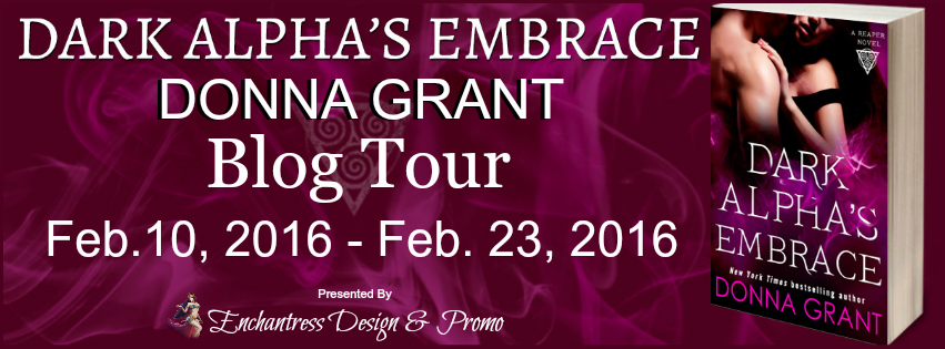Dark Alpha's Embrace by Donna Grant Blog Tour