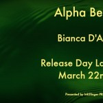 Release Day Launch: Alpha Bear (Grizzly Cove #4) by Bianca D'Arc ~ Excerpt