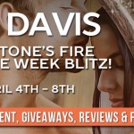 Sunstone's Fire (Cursed in Stone) by Lia Davis (Tour)