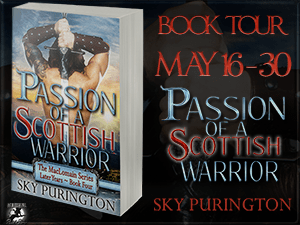 Passion of A Scottish Warrior Button 300 x 225