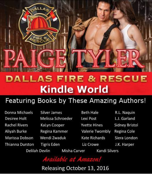 Dallas Fire & Rescue Kindle World List of Authors