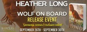 Wolf on Board Release Week Event Banner